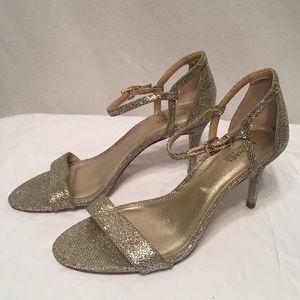 Stunning pair of Michael Kors heels glitter bling